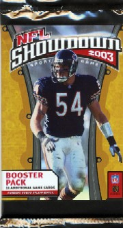nfl showdown 2003 booster pack