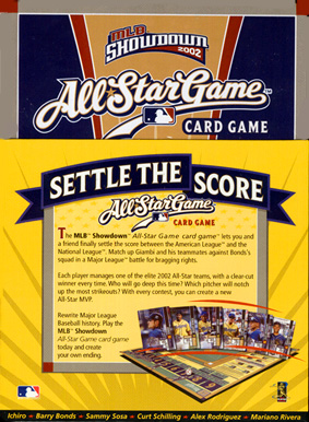 mlb showdown 2002 All-Star Game