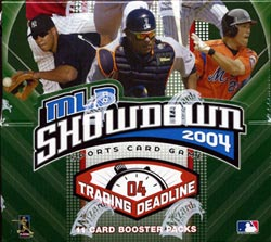 mlb showdown 2004 Trading Deadline Booster Box